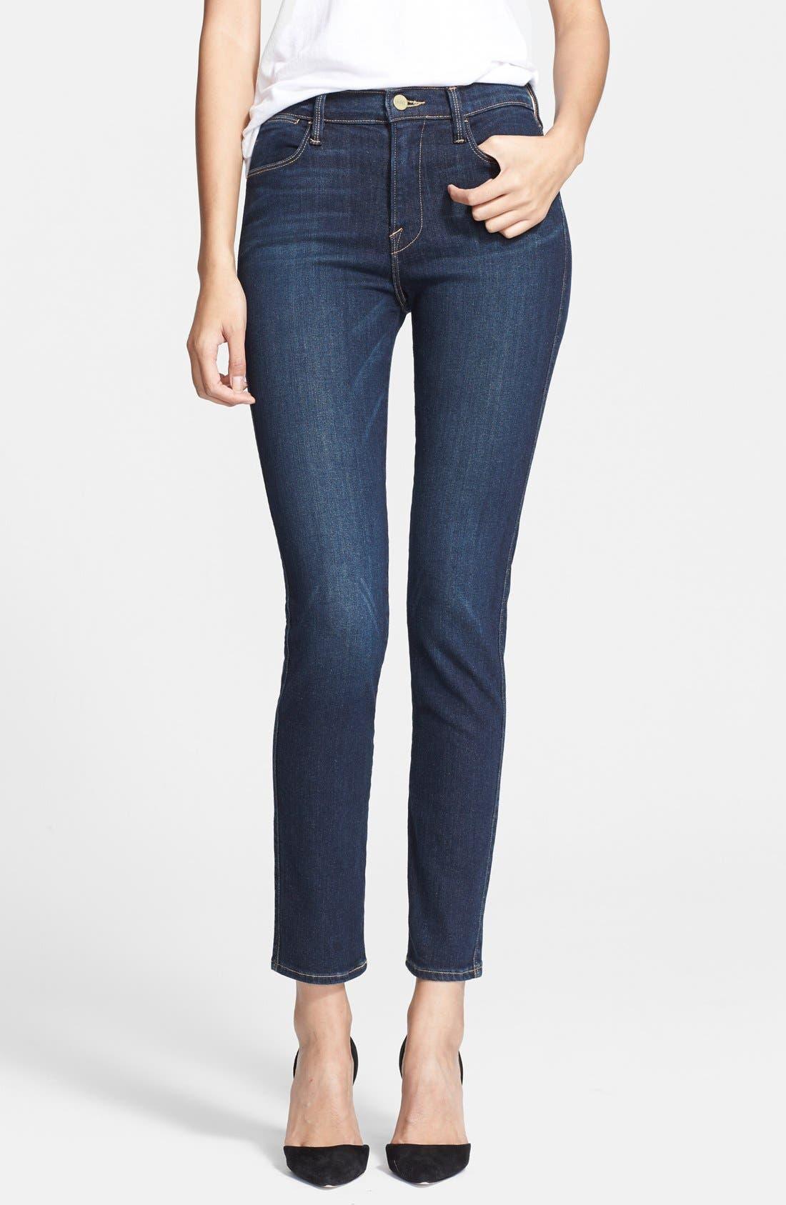 Main Image - Frame Denim 'Le High Skinny' Jeans (Altair)