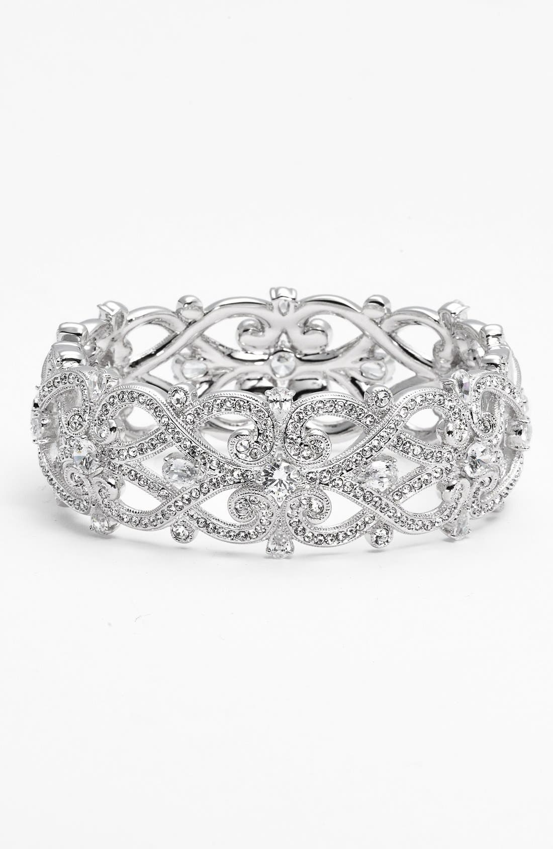 Main Image - Nadri 'Celtic Knot' Crystal Bangle