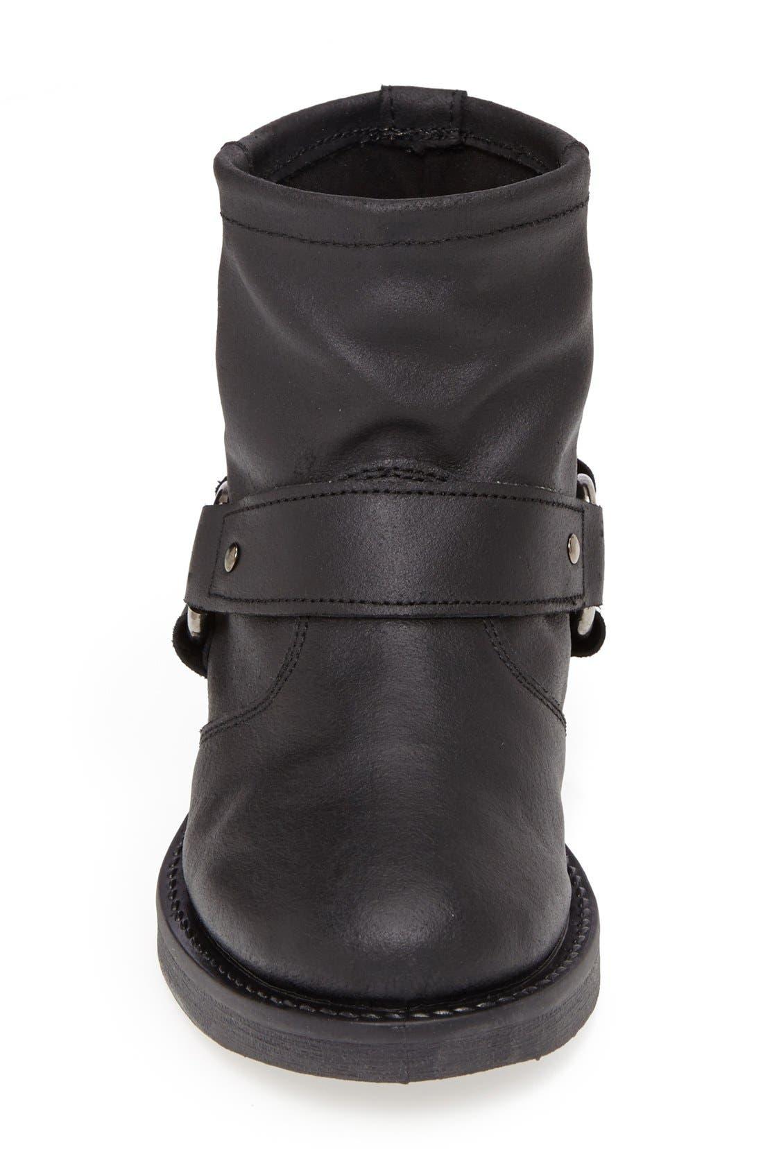 Alternate Image 3  - Topshop 'Buster' Leather Harness Biker Boot (Women)