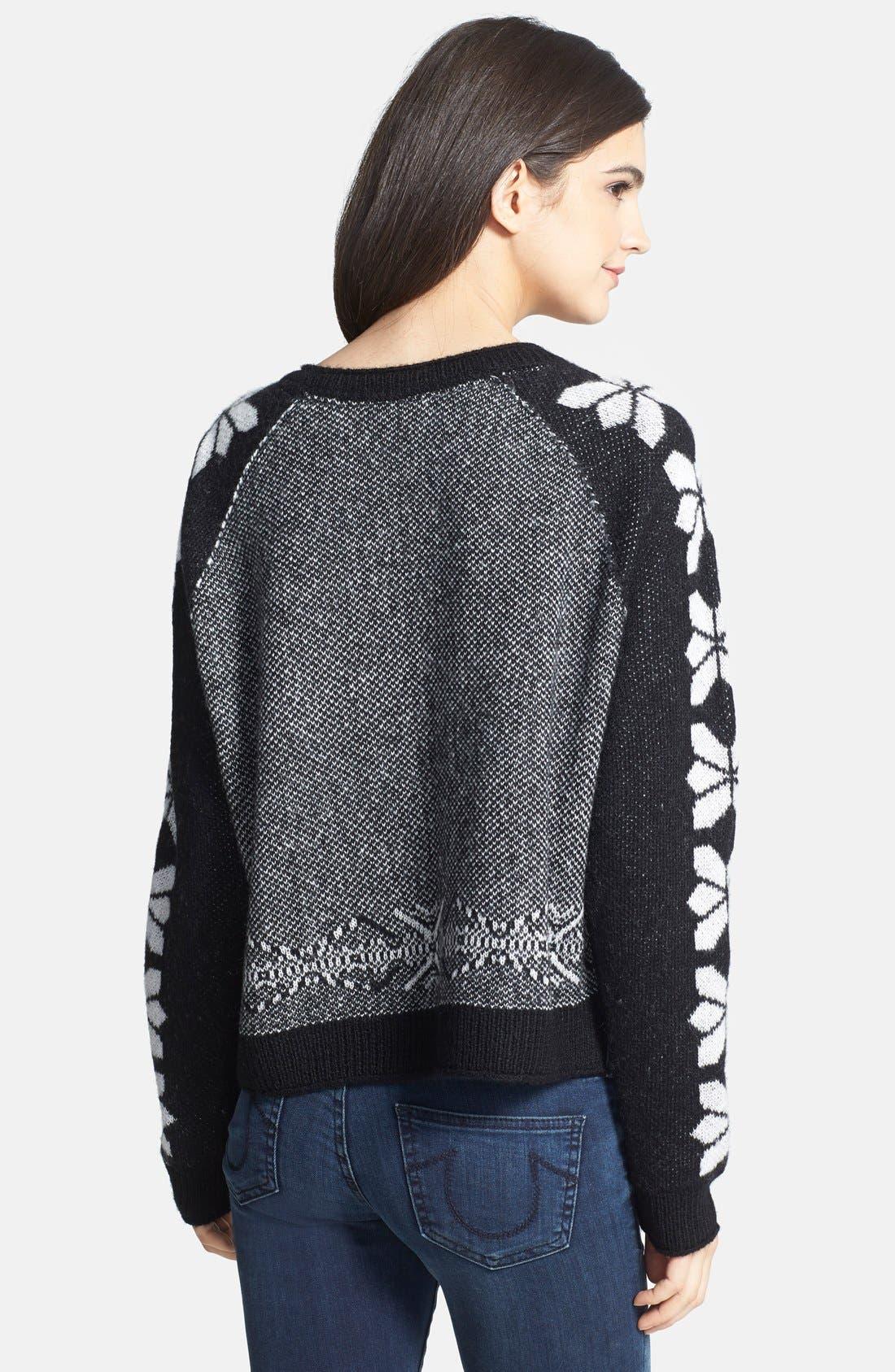 Alternate Image 2  - Hinge Intarsia Seasonal Sweater