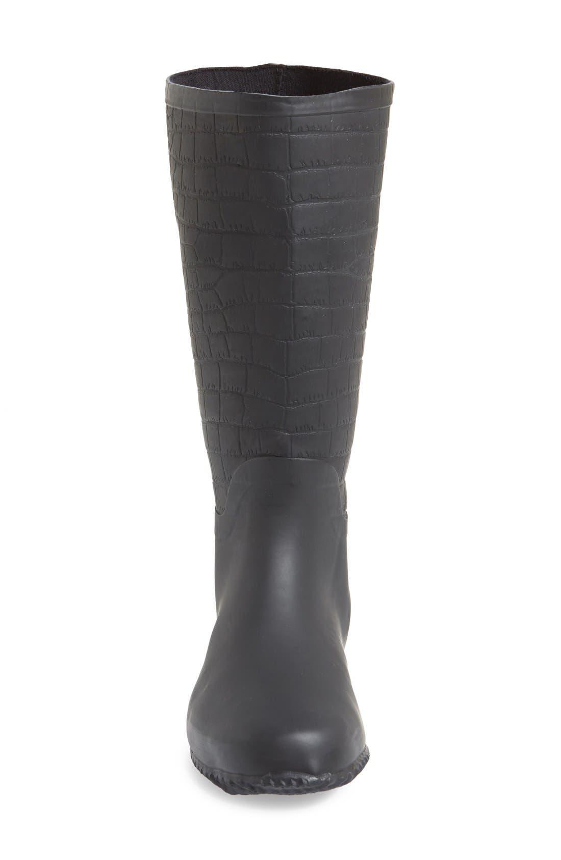 Alternate Image 3  - Butterfly Twists 'Carlisle' Foldable Rain Boot (Women)