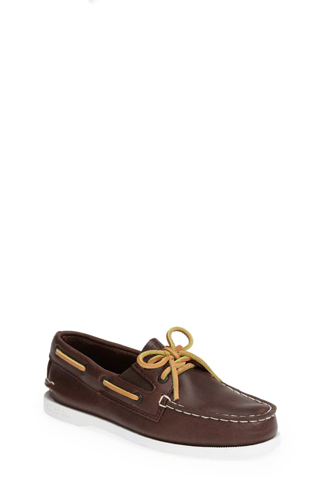 Main Image - Sperry Kids 'Authentic Original' Boat Shoe (Walker, Toddler, Little Kid & Big Kid)