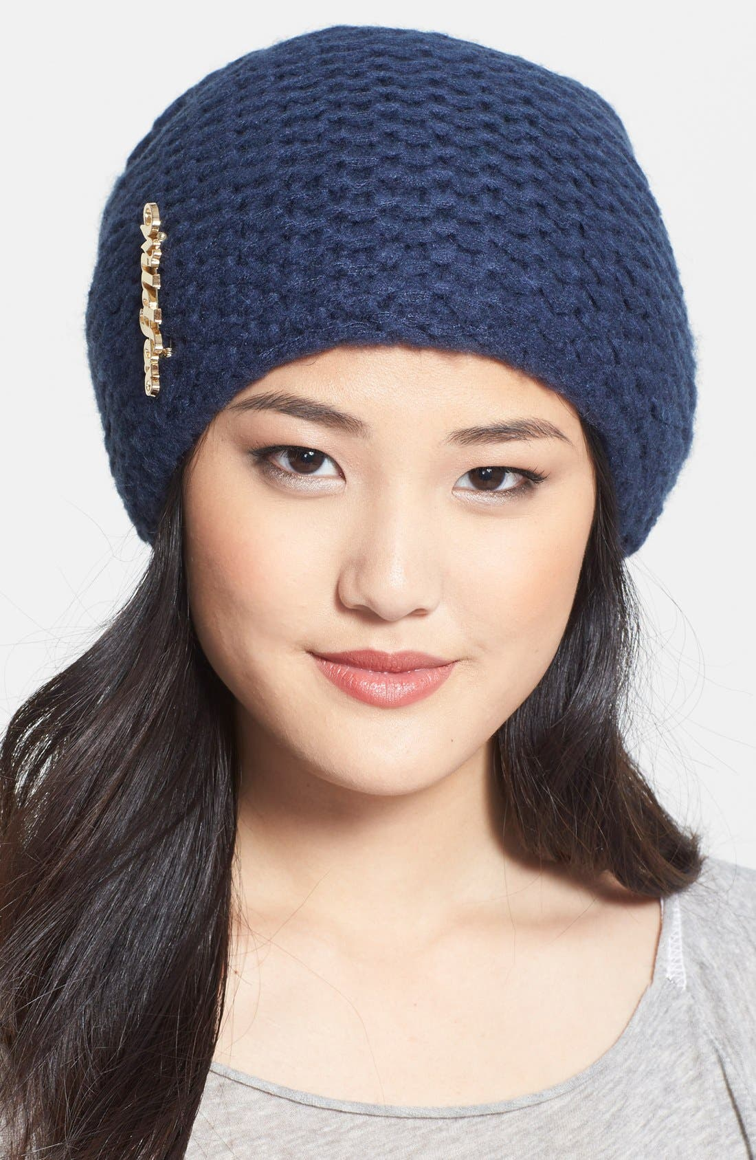 Alternate Image 1 Selected - Wildfox Garter Knit Beanie