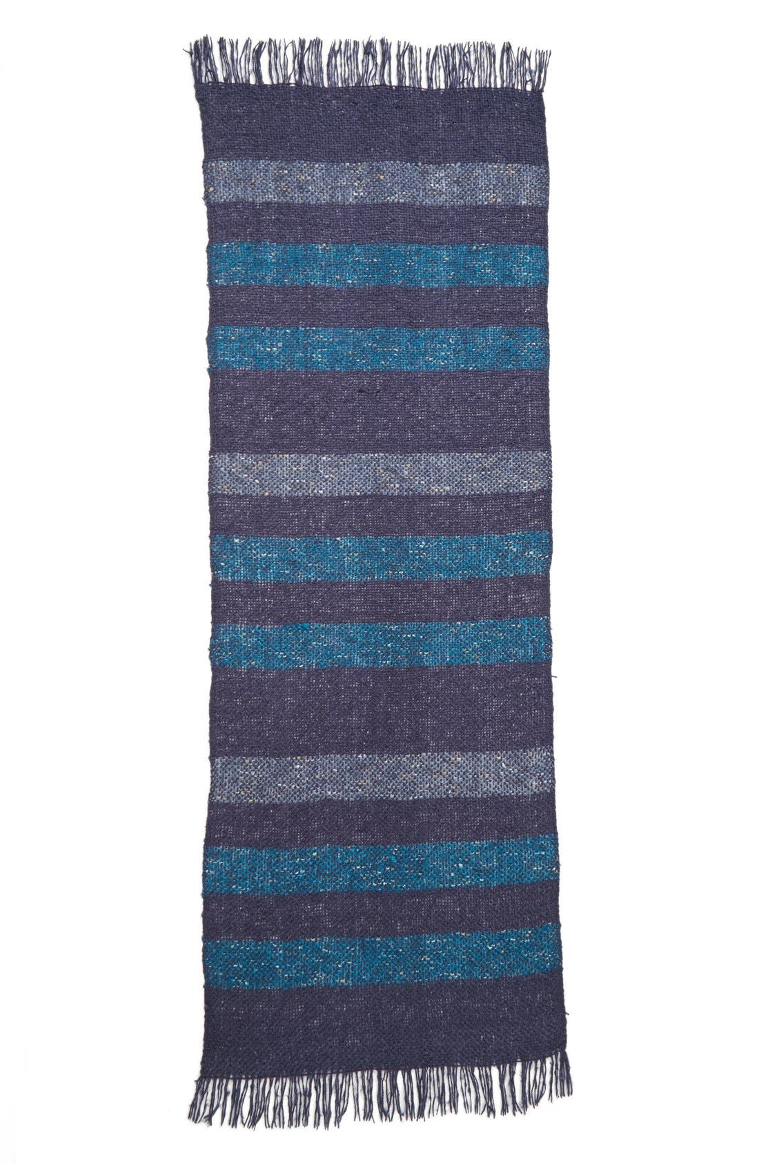 Alternate Image 2  - Nordstrom Tonal Stripe Wrap