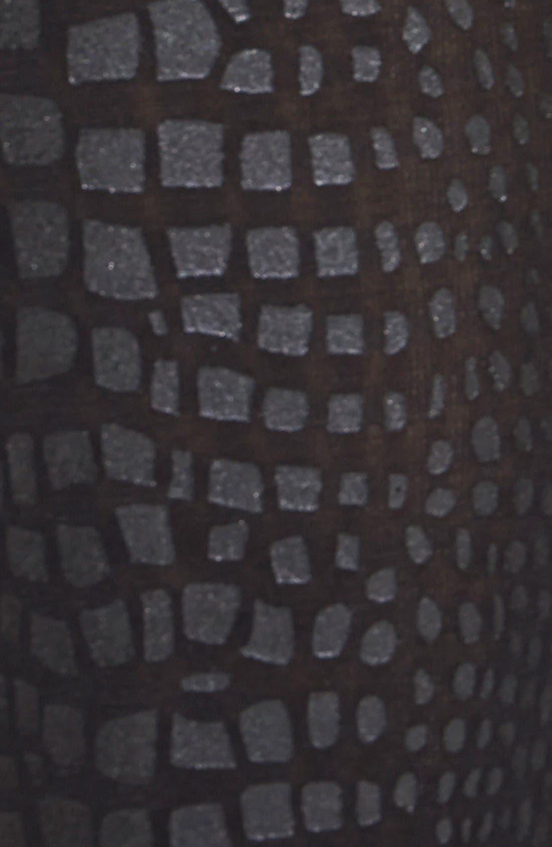 Alternate Image 2  - Hue Coated Python Pattern Tights