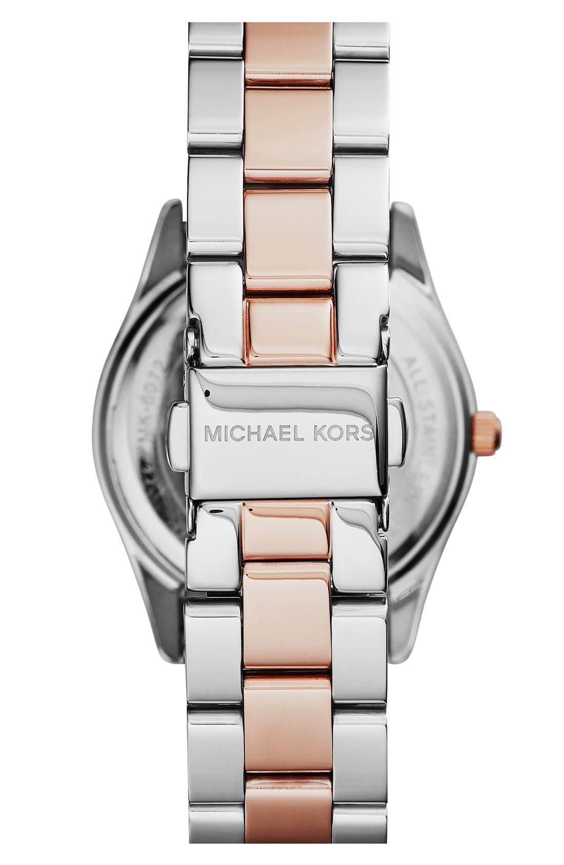 Alternate Image 2  - Michael Kors 'Colette' Round Bracelet Watch, 34mm