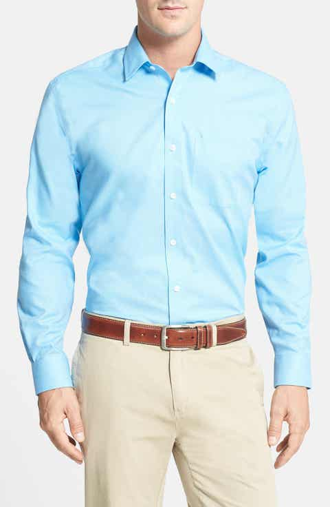 Cutter   Buck 'Epic Easy Care' Classic Fit Wrinkle Free Sport Shirt (Big   Tall)