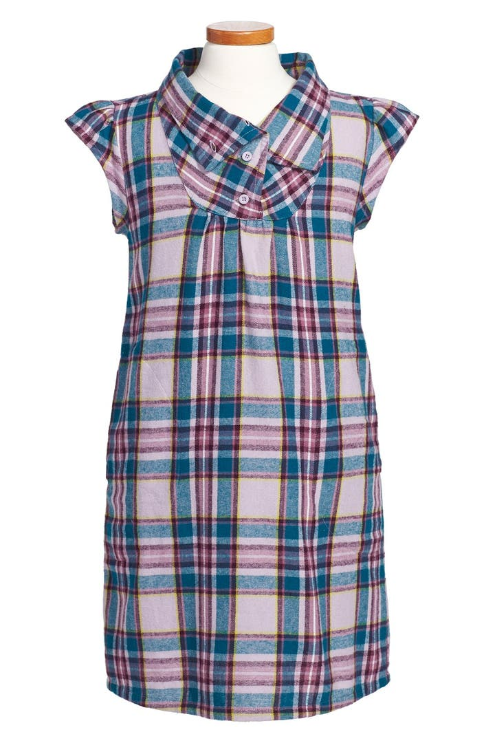 Tea Collection Stuttgart Flannel Dress Toddler Girls