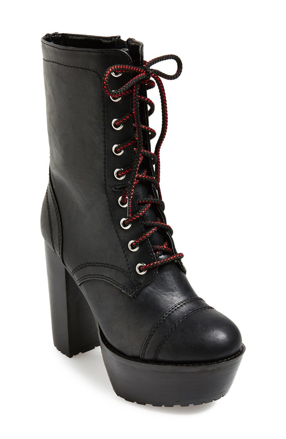 Alternate Image 1 Selected - KENDALL + KYLIE Madden Girl 'Averryy' Platform Mid Boot (Women)