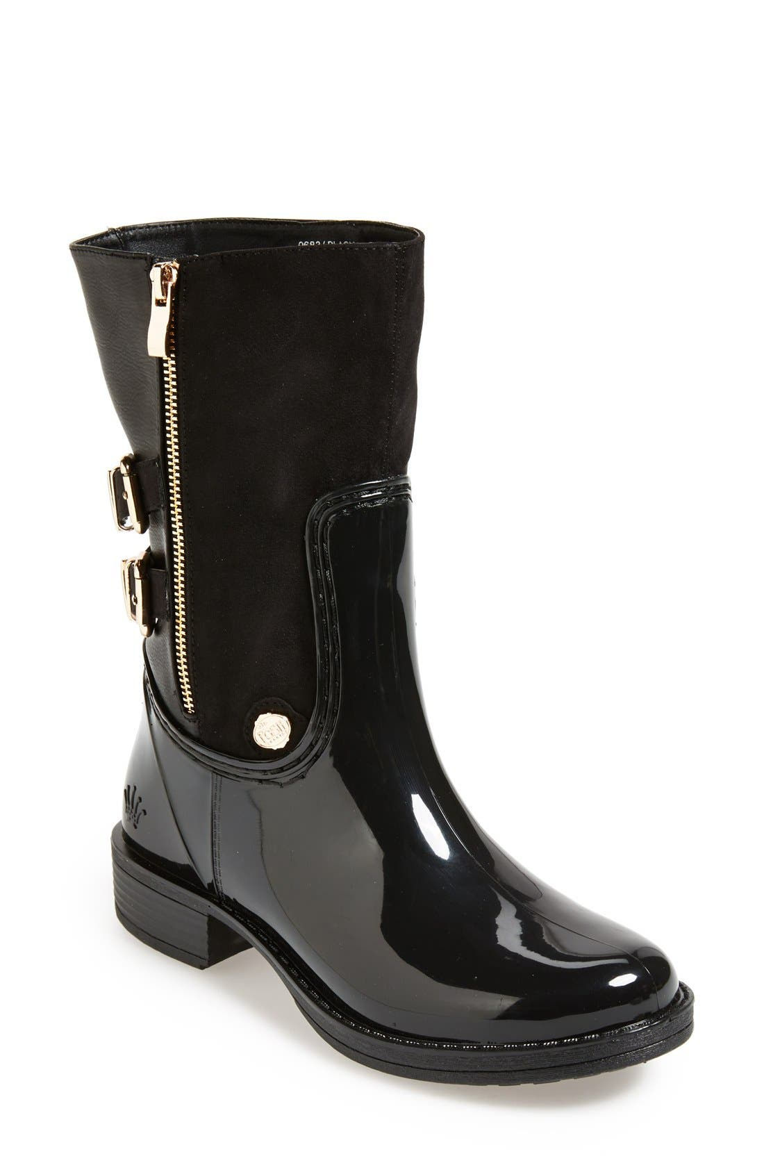 Alternate Image 1 Selected - Posh Wellies 'Resilience' Mid Rain Boot (Women)