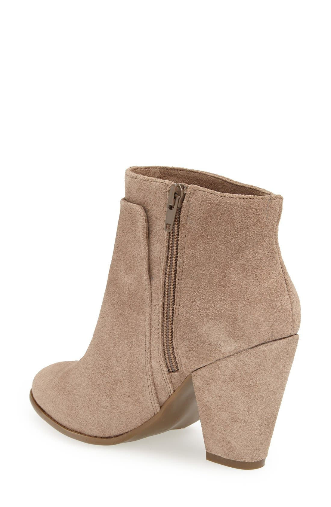 Alternate Image 2  - Sole Society 'Erlina' Leather Ankle Bootie (Women)