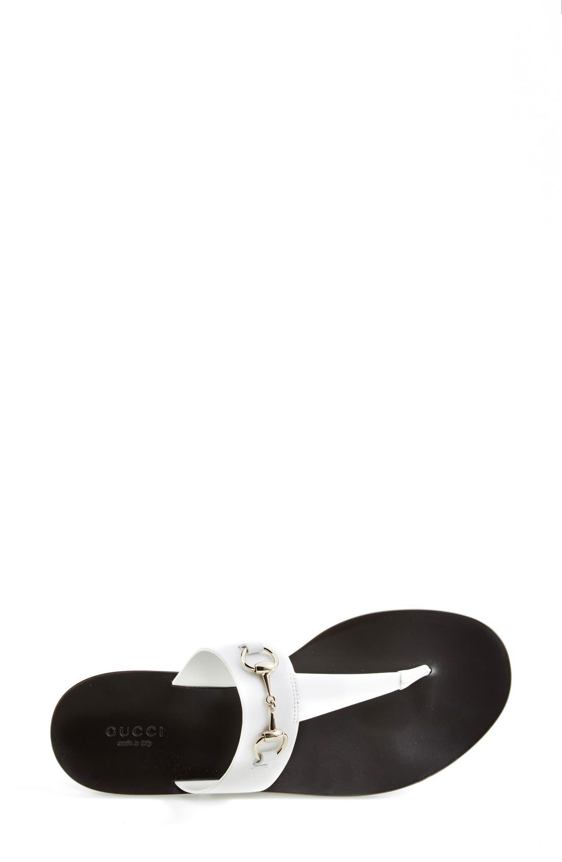 Alternate Image 4  - Gucci 'Marcy' Bit Thong Sandal