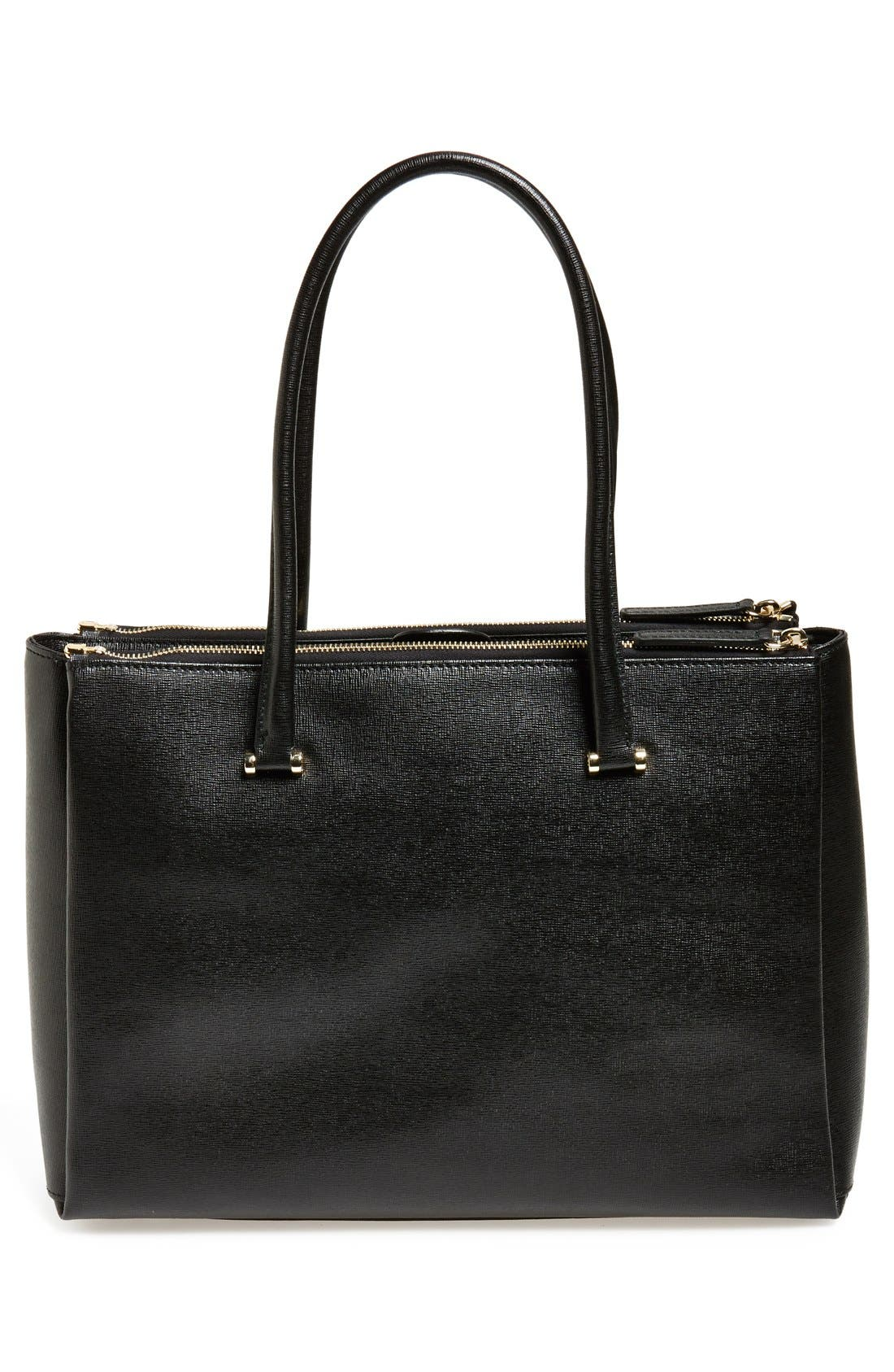 Alternate Image 3  - Furla 'Large Lotus' Saffiano Leather Tote