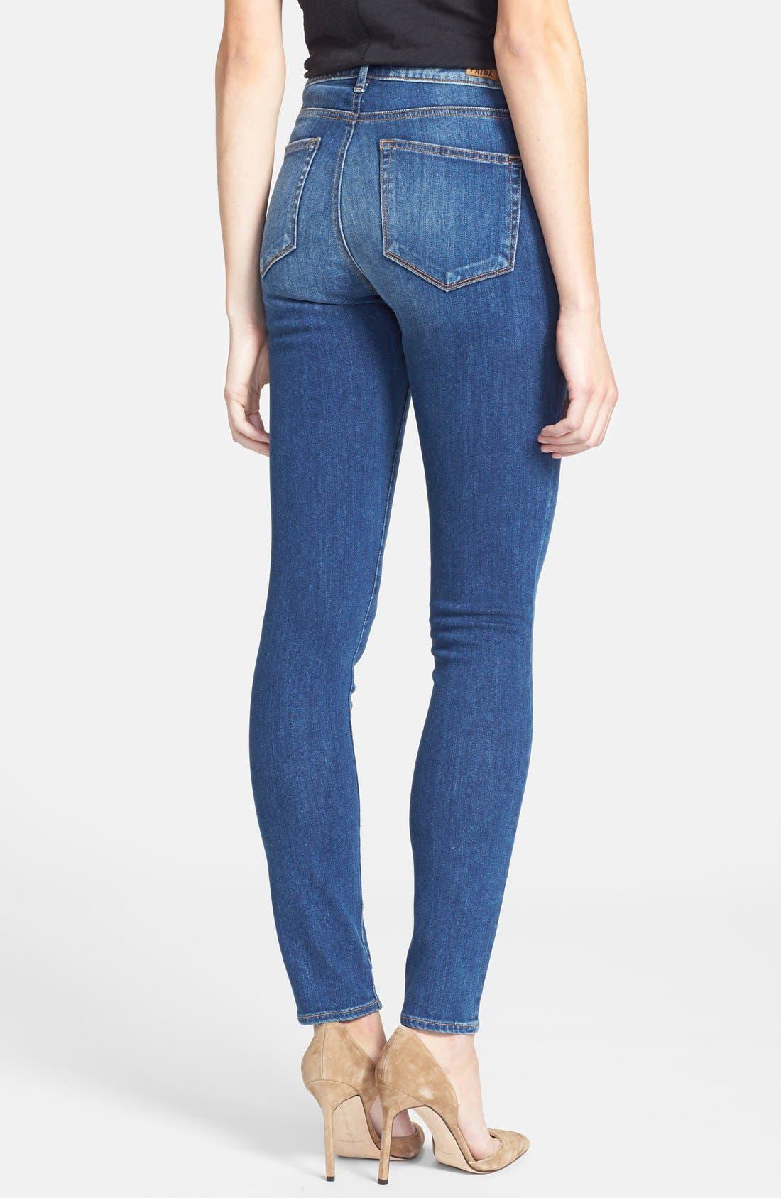 Alternate Image 2  - Paige Denim 'Hoxton' Ultra Skinny Jeans (Constance)
