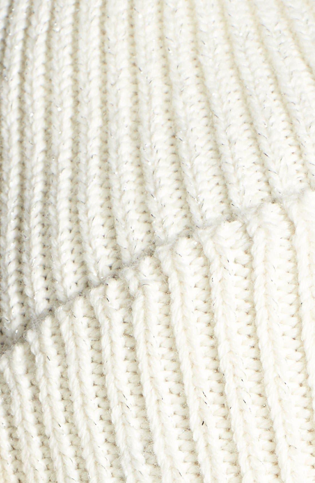 Alternate Image 2  - UGG® Australia Ribbed Knit Beanie