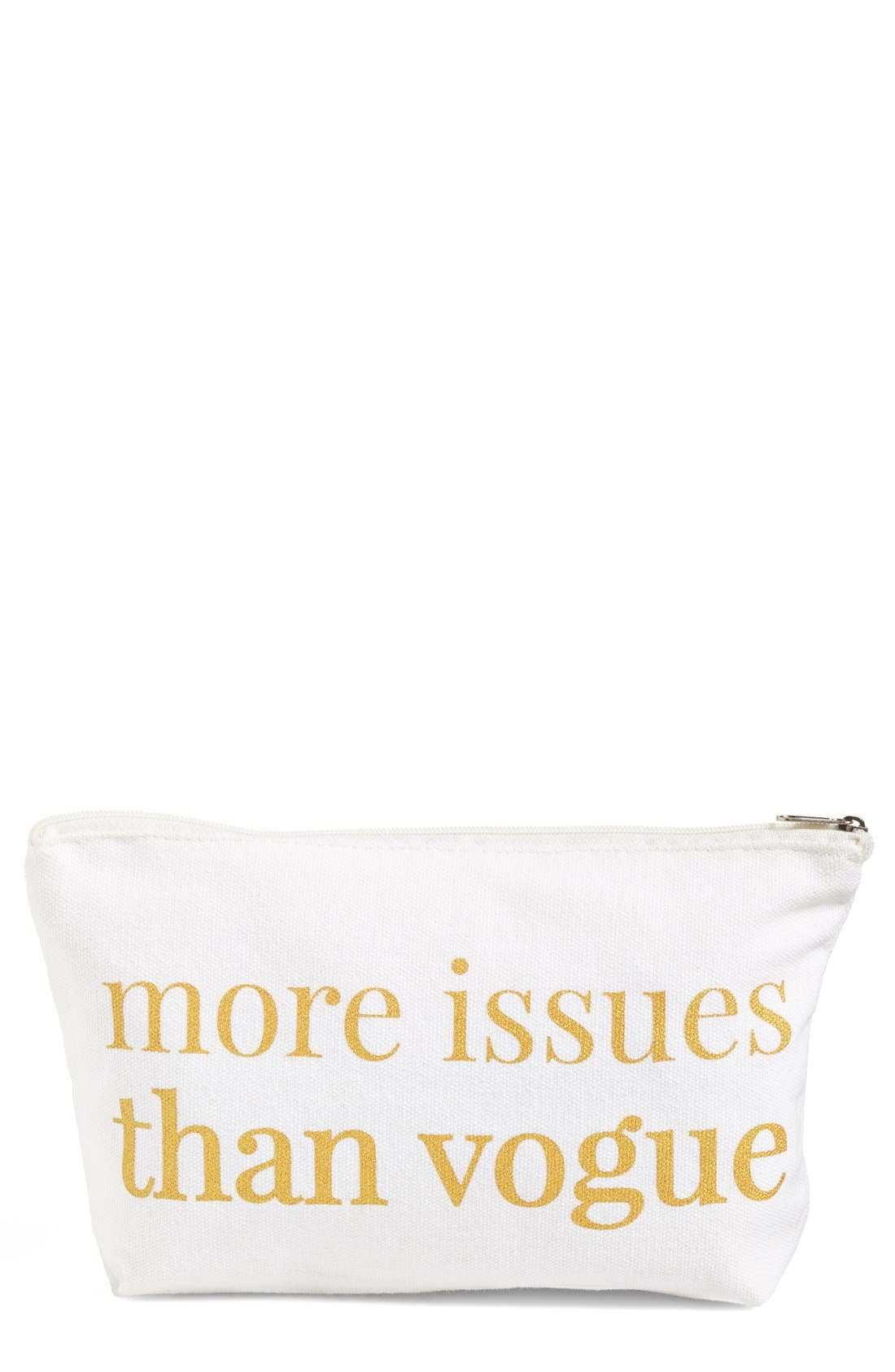 Main Image - Levtex 'More Issues than Vogue' Zip Pouch