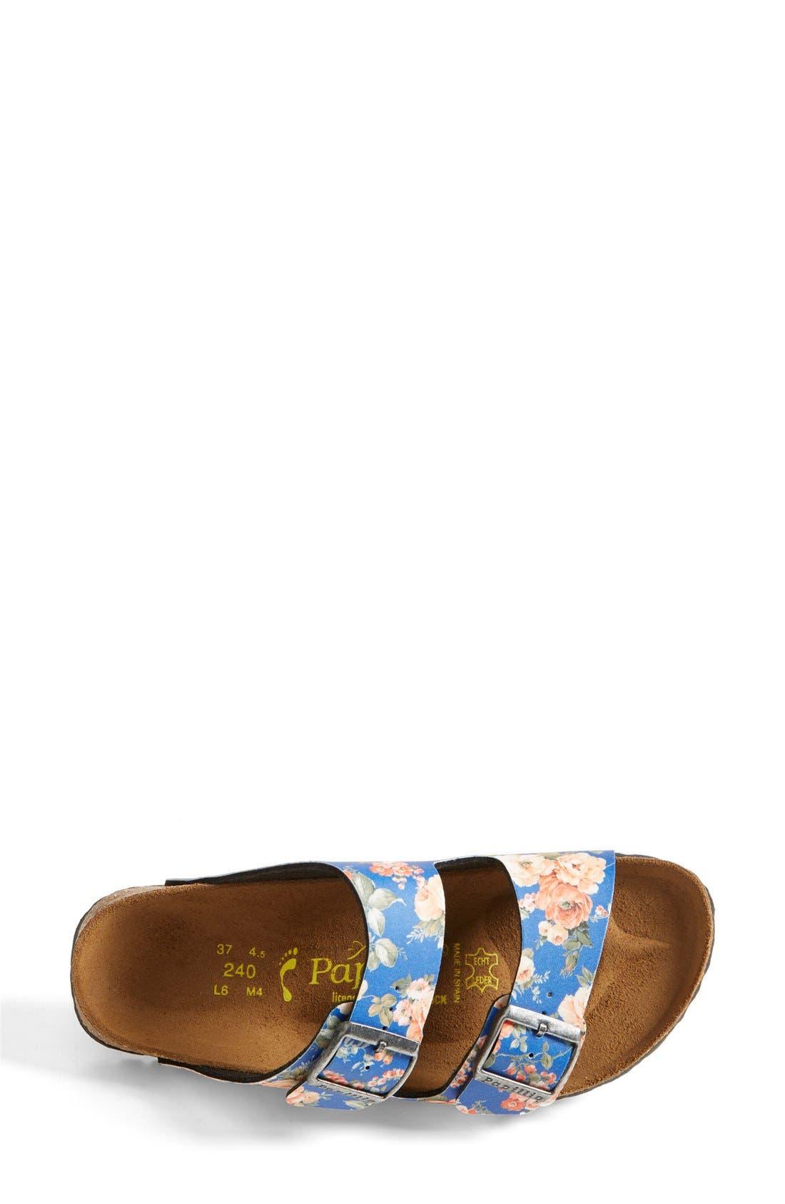 Alternate Image 4  - Birkenstock 'Arizona' Floral Print Sandal (Women)