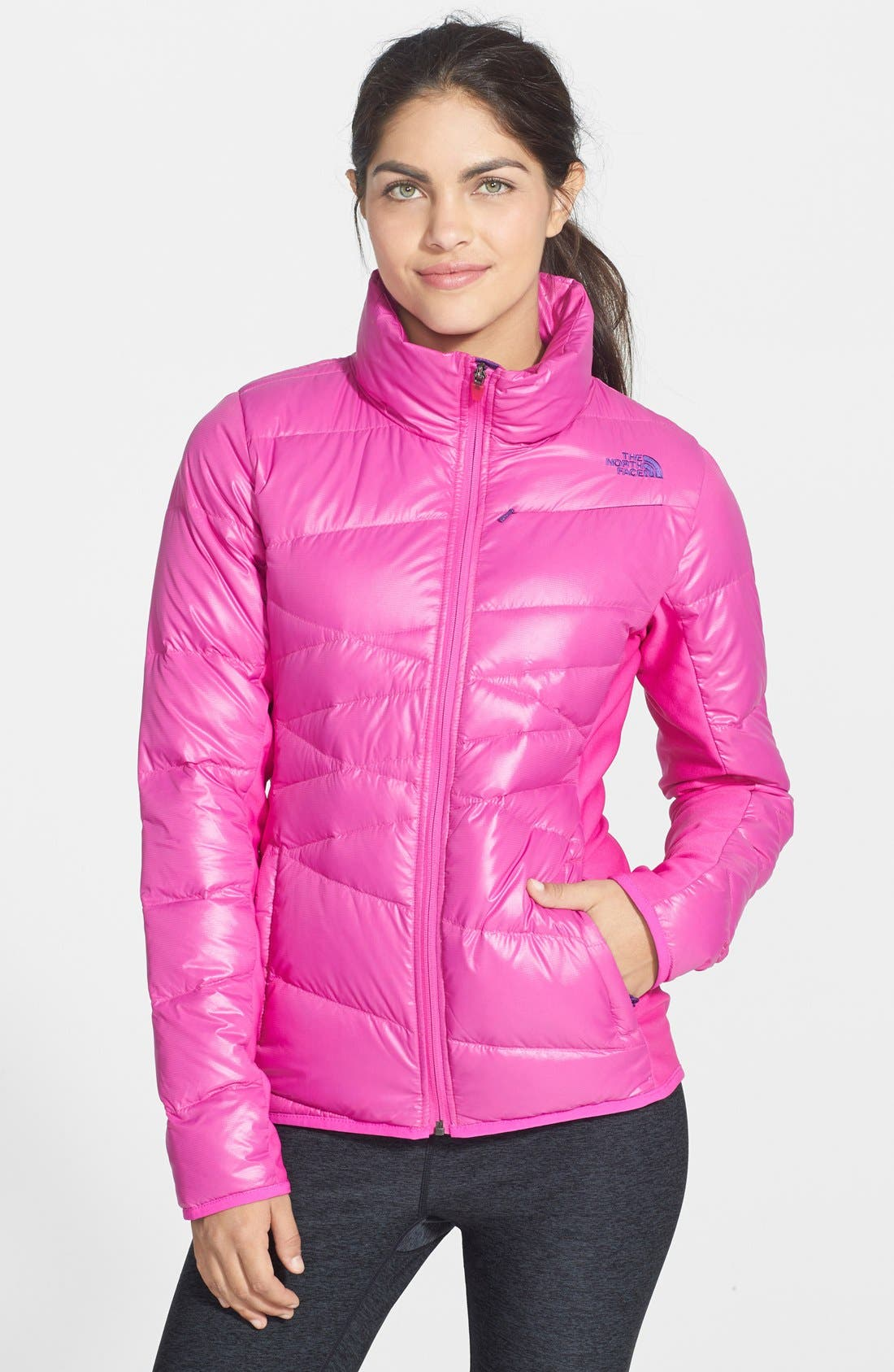 Alternate Image 1 Selected - The North Face 'Hyline' Hybrid Down Jacket
