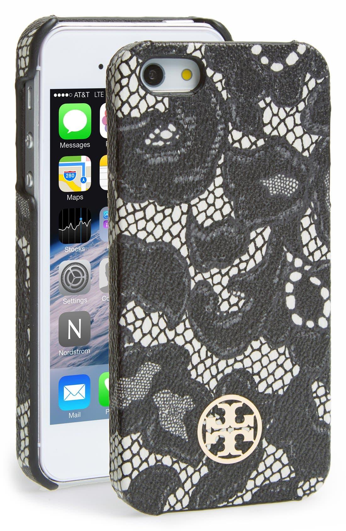 Alternate Image 1 Selected - Tory Burch 'Kerrington' iPhone 5 & 5s Case