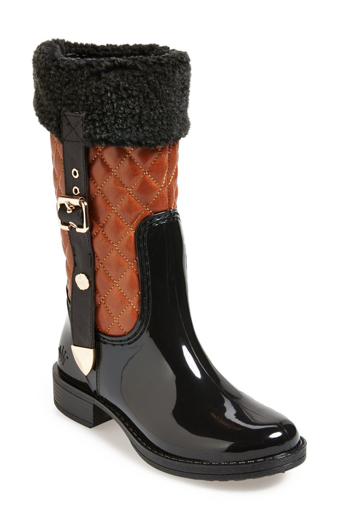 Main Image - Posh Wellies 'Gamer' Rain Boots (Women)
