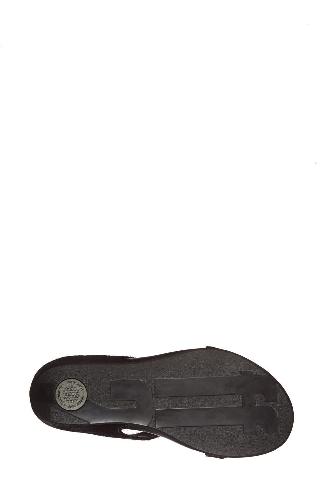 Alternate Image 4  - FitFlop™ 'Banda' Slide Sandal (Women)