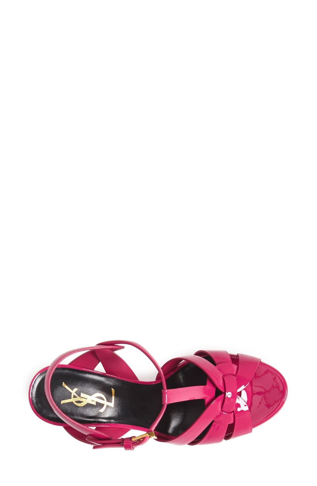 Alternate Image 3  - Saint Laurent 'Tribute' T-Strap Sandal (Women)