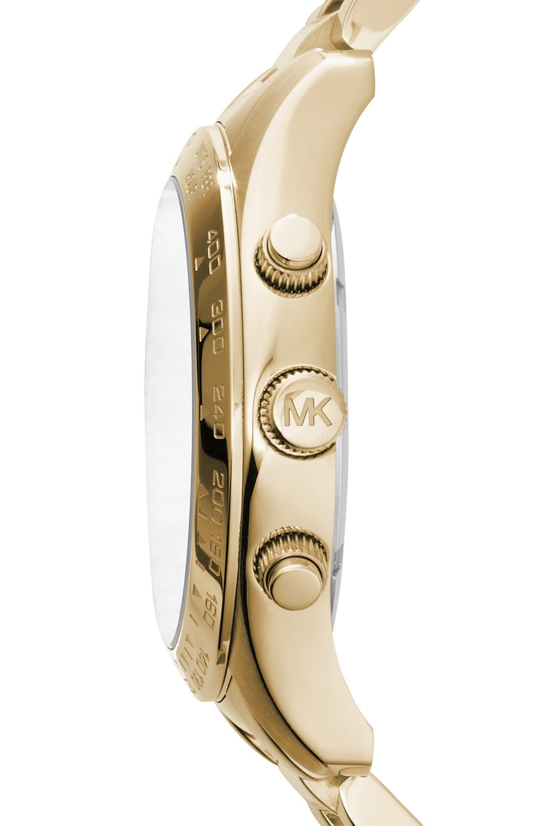 Alternate Image 3  - Michael Kors 'Large Layton' Chronograph Watch, 45mm
