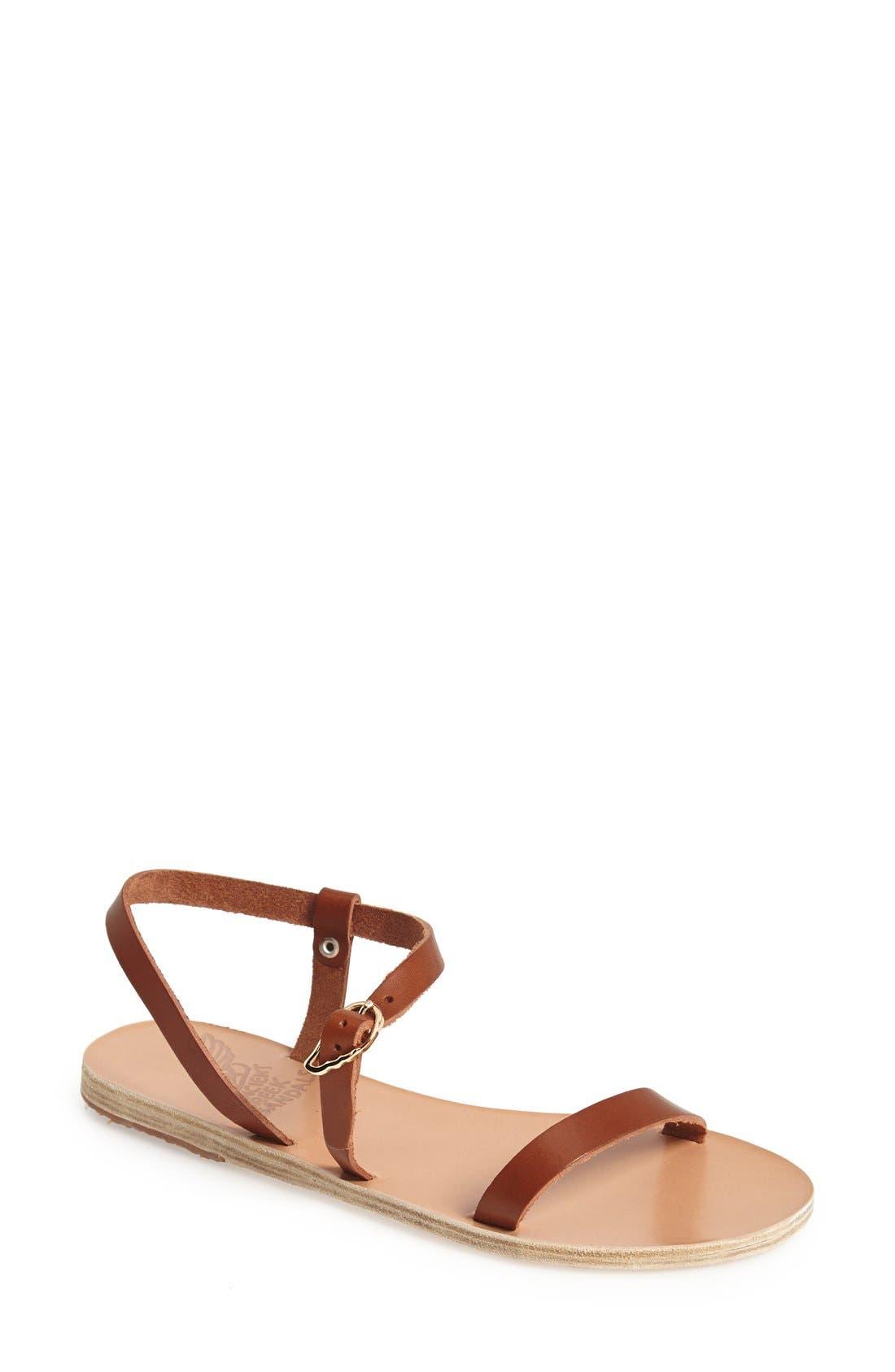 Alternate Image 1 Selected - Ancient Greek Sandals 'Niove' Leather Sandal (Women)