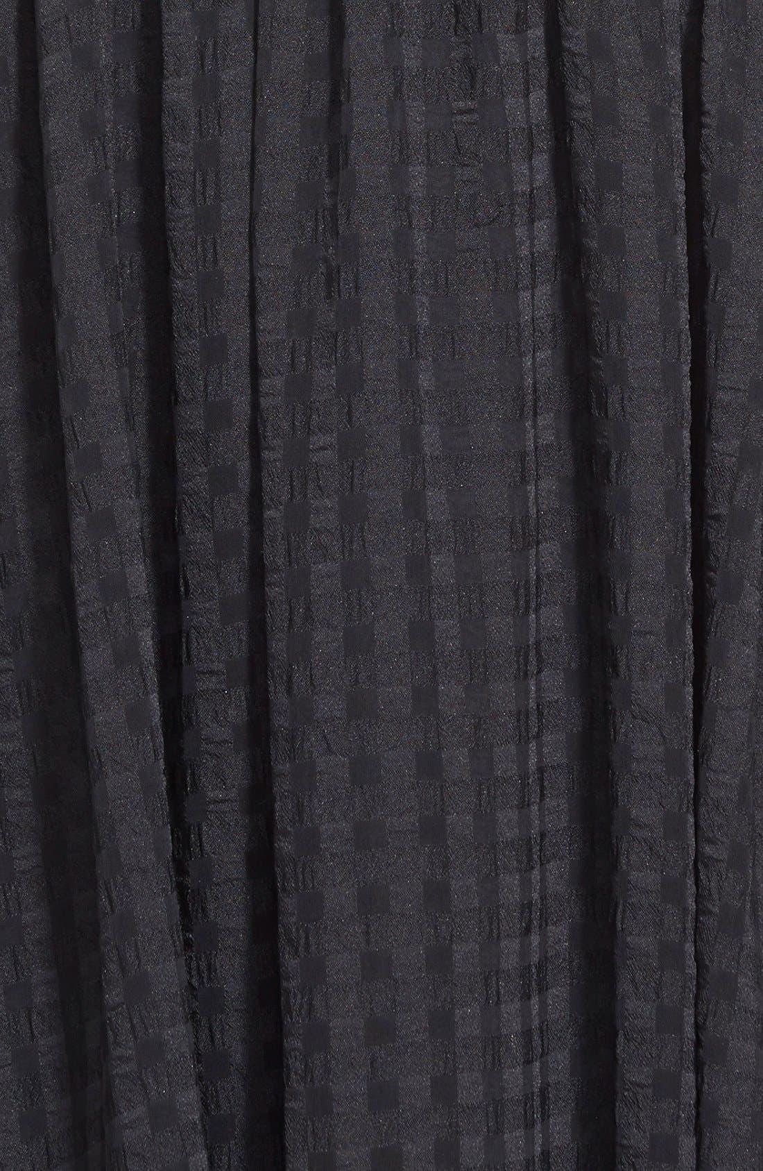 Alternate Image 4  - Donna Morgan Chiffon Fit & Flare Dress