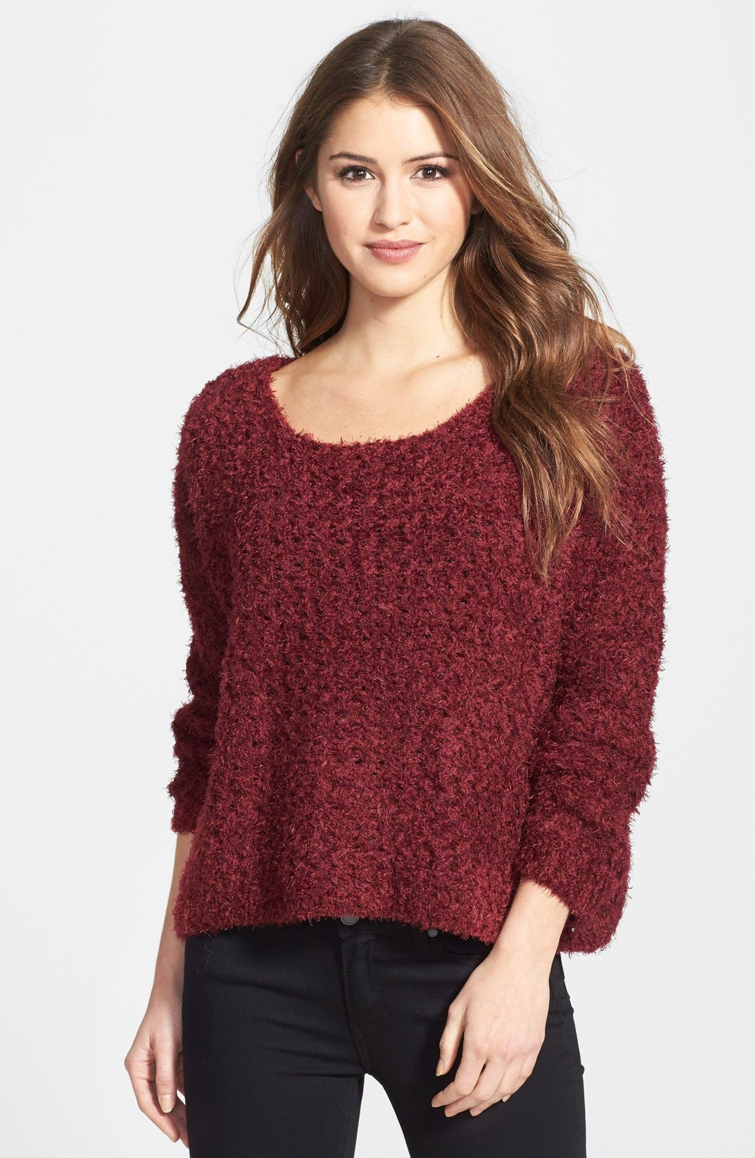 Alternate Image 1 Selected - Jessica Simpson 'Snowie' Sweater