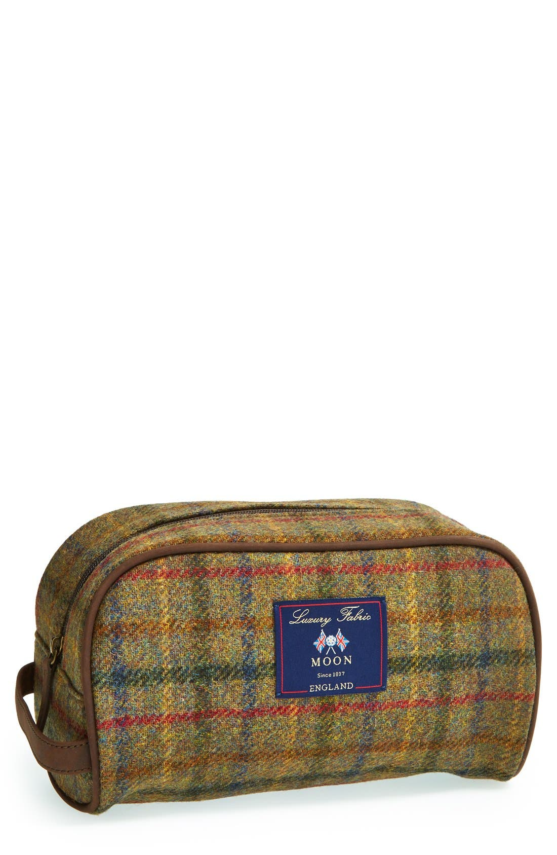 Barbour Tweed Travel Kit