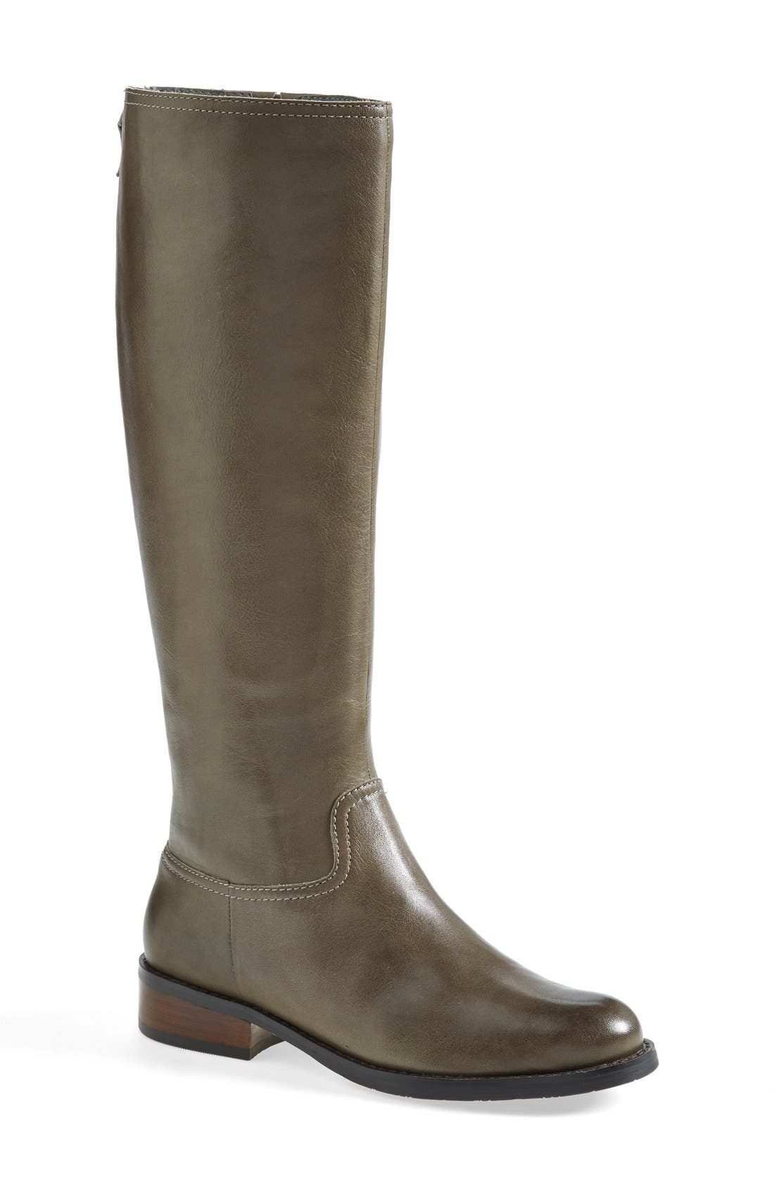 Alternate Image 1 Selected - Halogen® 'Ginger' Knee High Boot (Wide Calf) (Women)