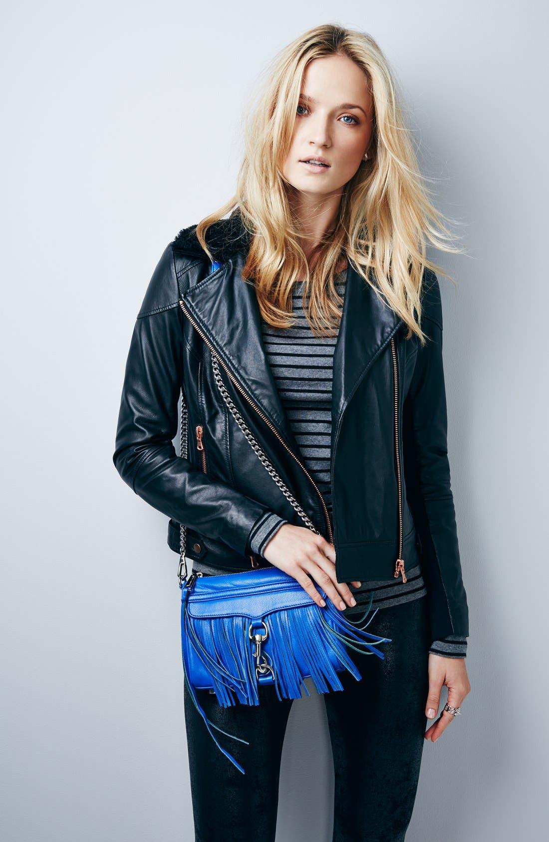 Alternate Image 7  - Rebecca Minkoff 'Fringe Mini MAC' Convertible Crossbody Bag (Nordstrom Exclusive)