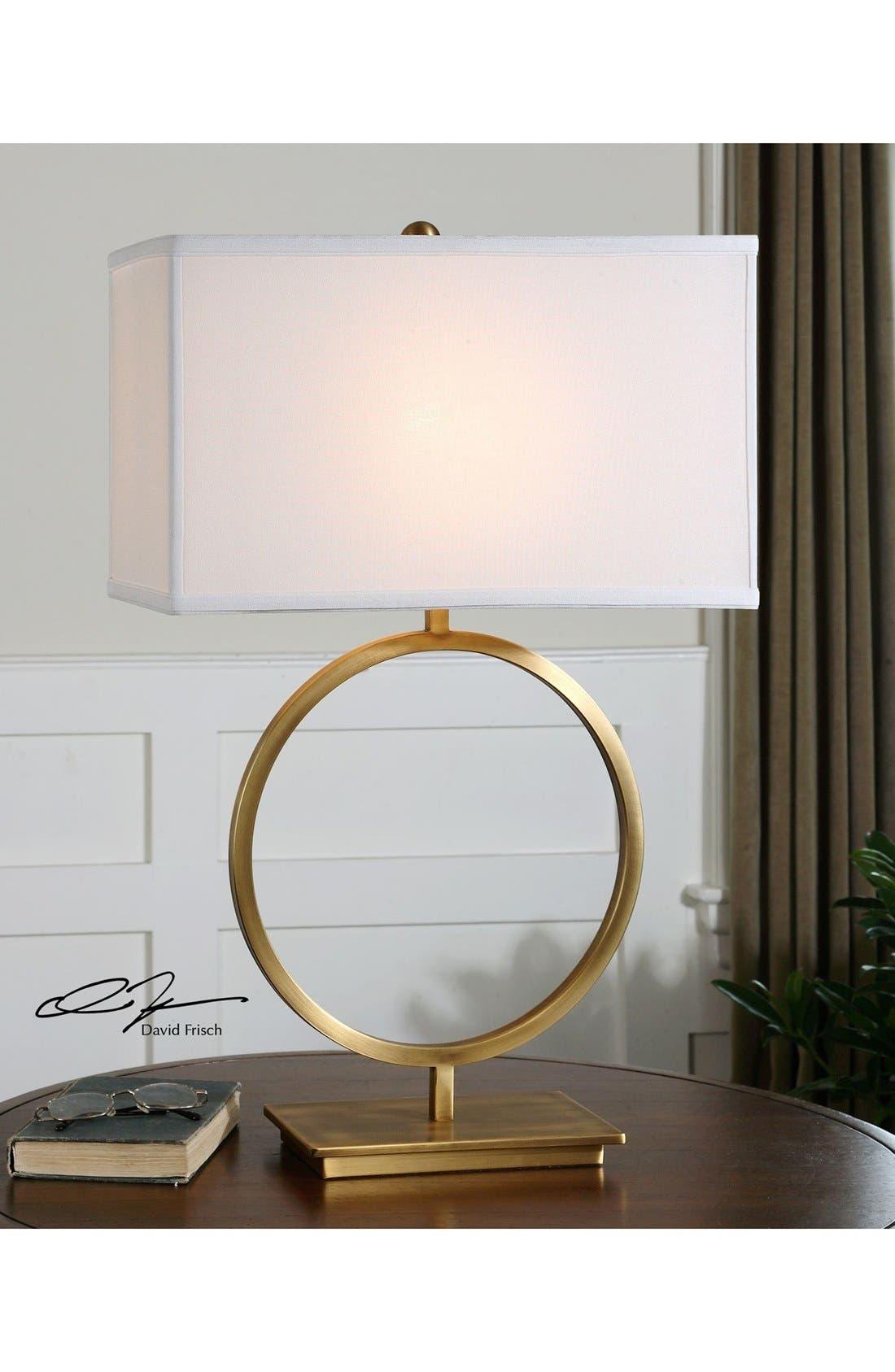 Alternate Image 2  - Uttermost 'Duara' Circle Table Lamp
