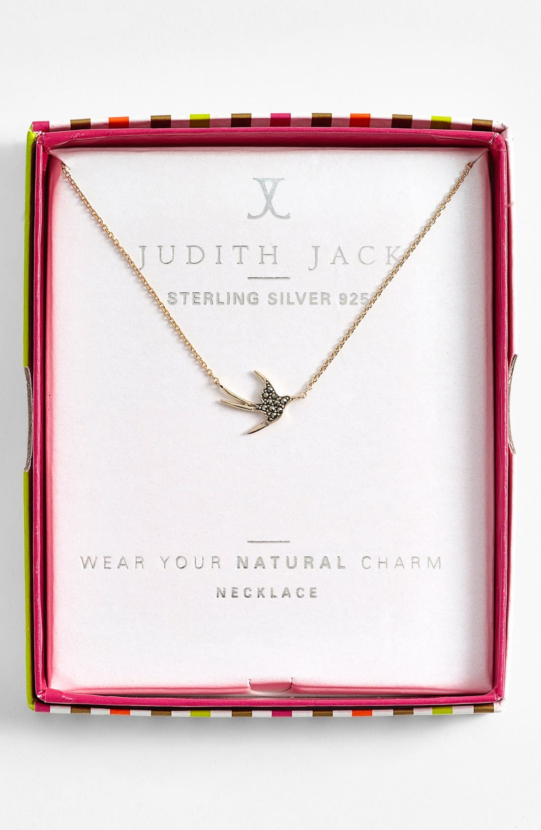 Alternate Image 3  - Judith Jack 'Charmed Life' Boxed Bird Pendant Necklace