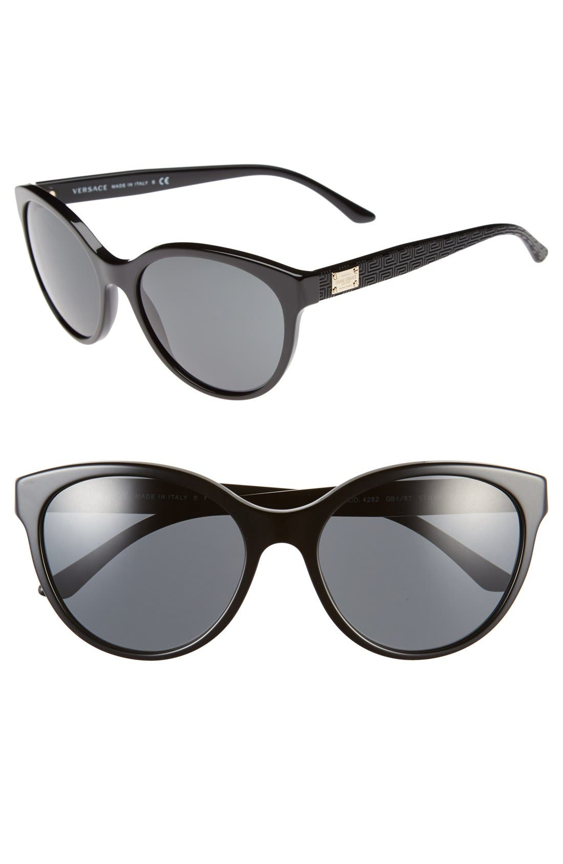 Main Image - Versace 57mm Retro Sunglasses