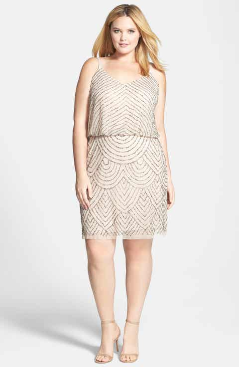 Women\'s Adrianna Papell A-Line Dresses | Nordstrom