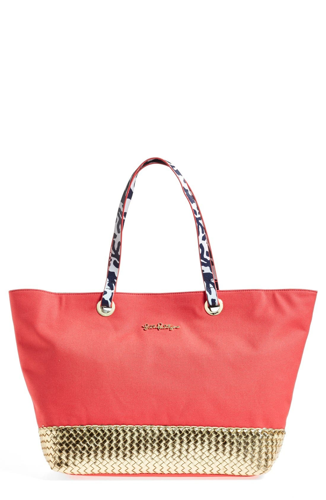 Alternate Image 1 Selected - Lilly Pulitzer® 'Island' Canvas Tote