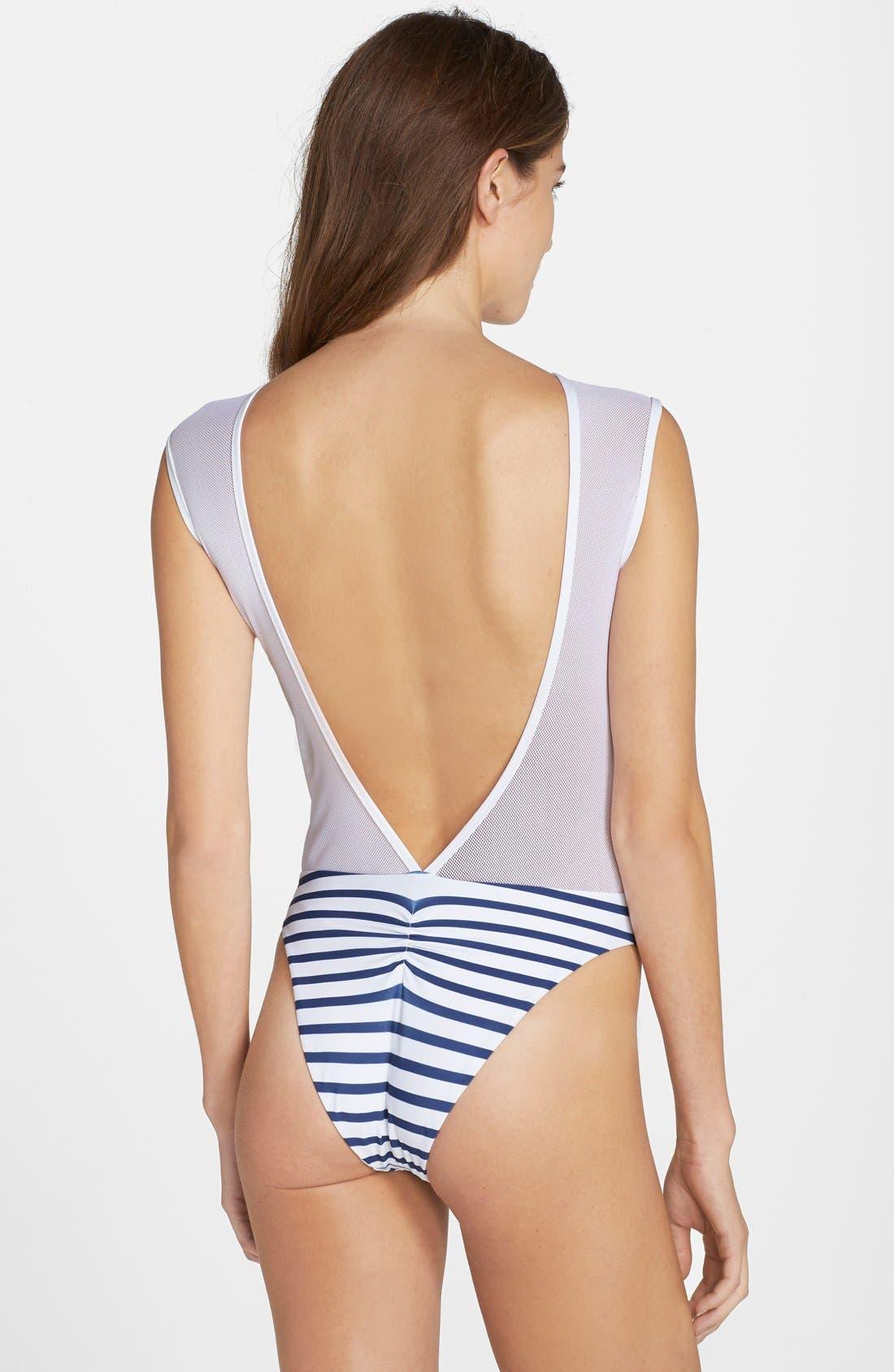 Alternate Image 2  - Blue Life 'Portofino' One-Piece Swimsuit
