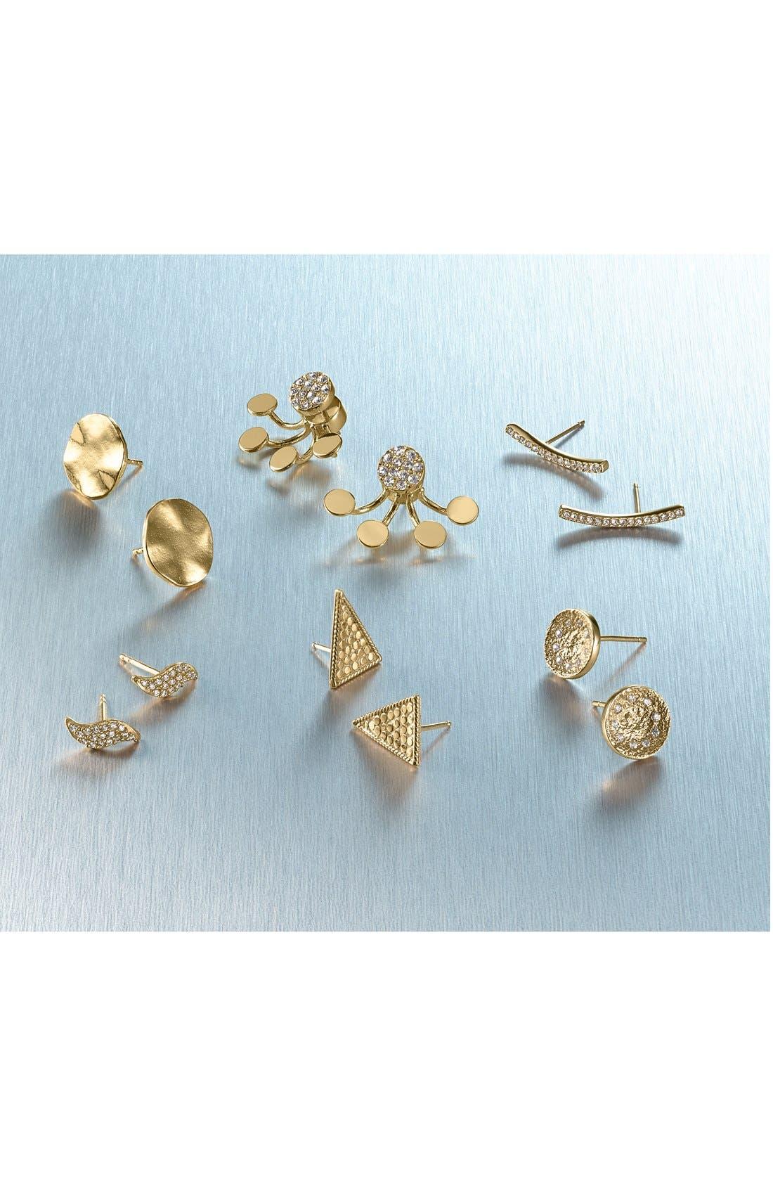 Alternate Image 3  - Melinda Maria 'Mattie' Pavé Stud Earrings