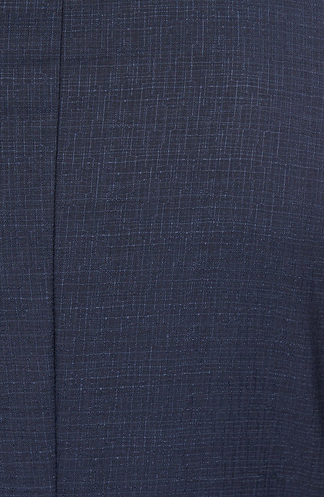 Alternate Image 7  - BOSS Nova/Ben Trim Fit Solid Wool Suit