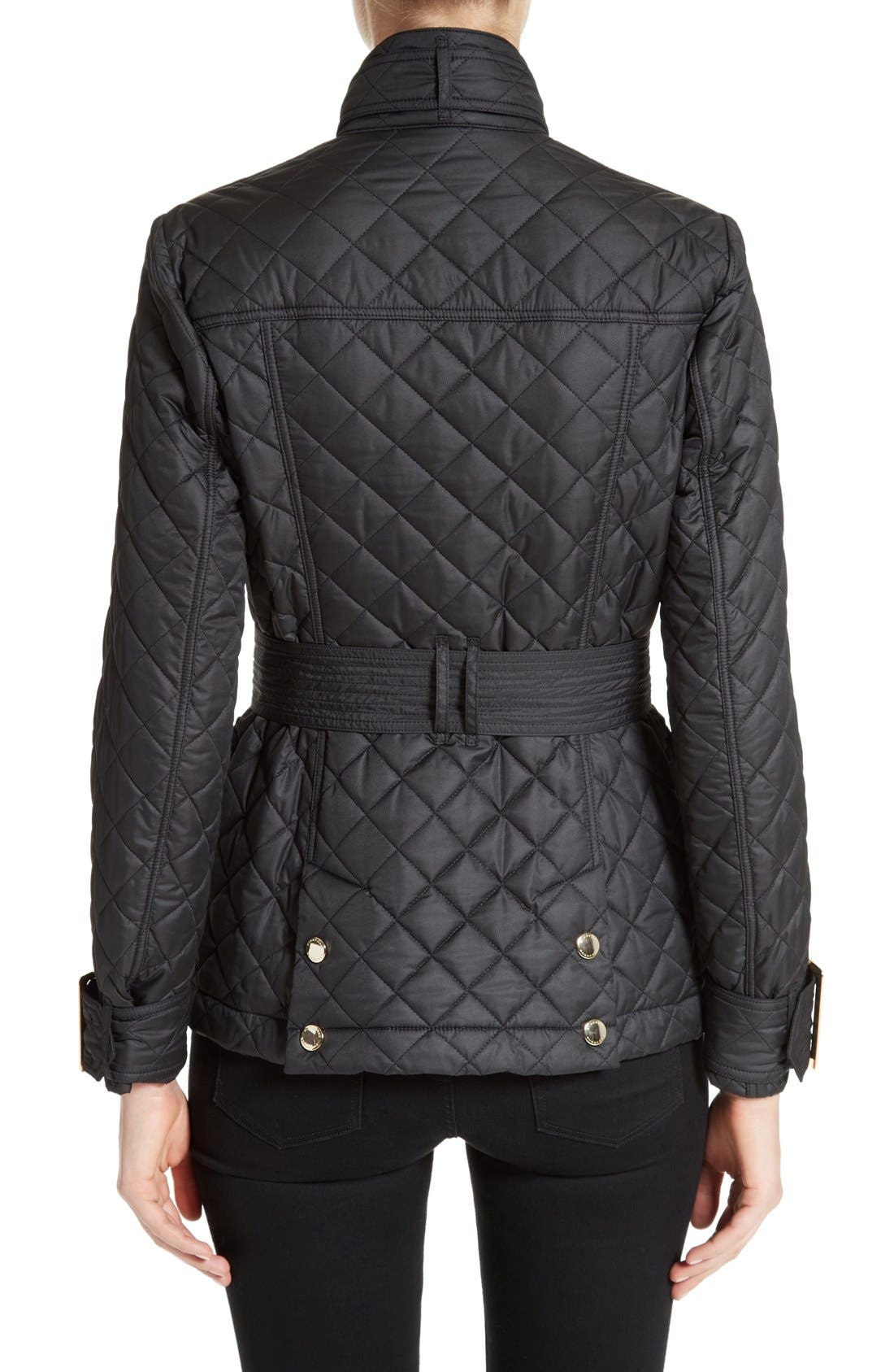 Alternate Image 2  - Burberry Haddingfield Quilted Field Jacket