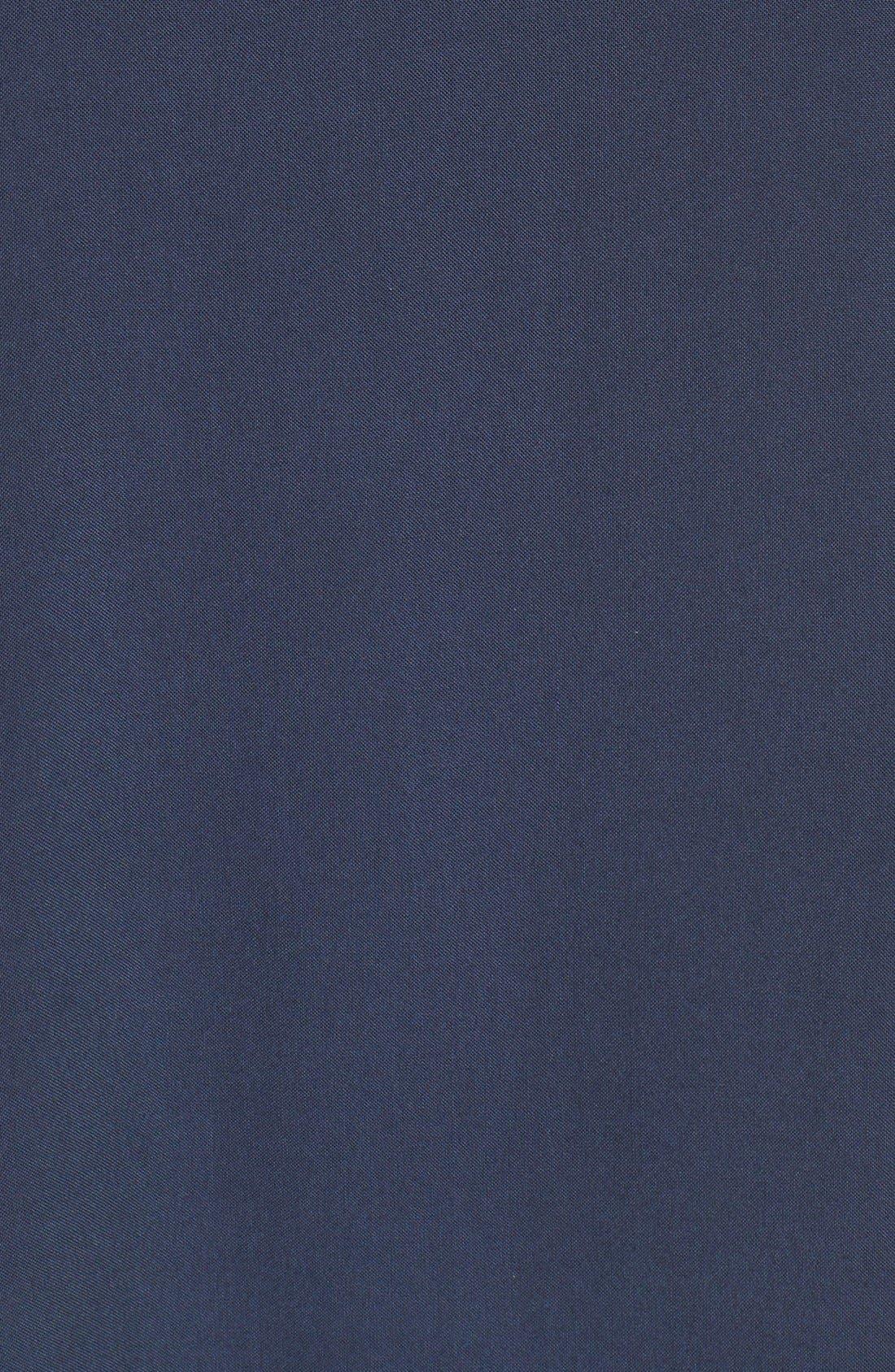 Alternate Image 5  - Pleione Split Neck Roll Sleeve Tunic (Regular & Petite)