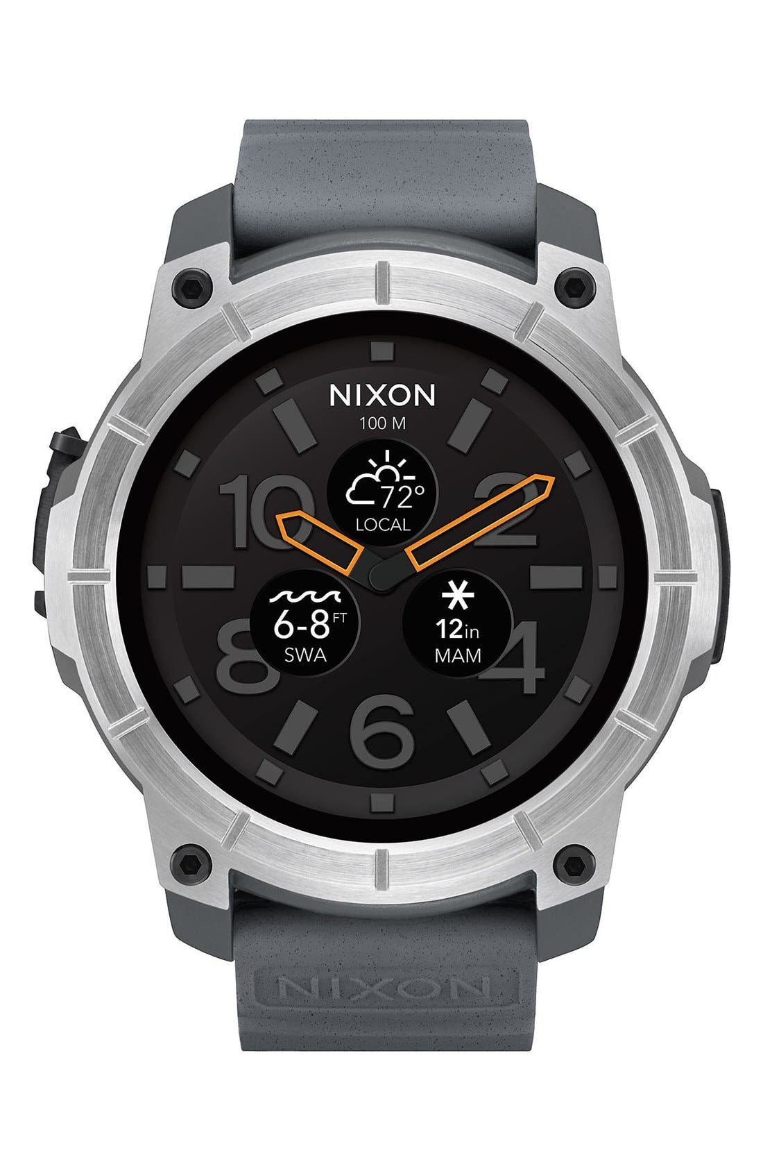Nixon Mission Ana-Digi Smart Watch, 48mm