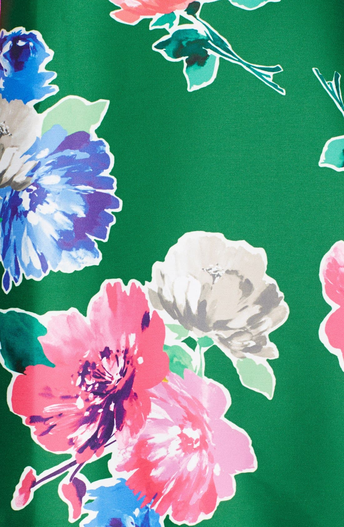 Alternate Image 3  - kate spade new york 'lorella' floral print a-line skirt