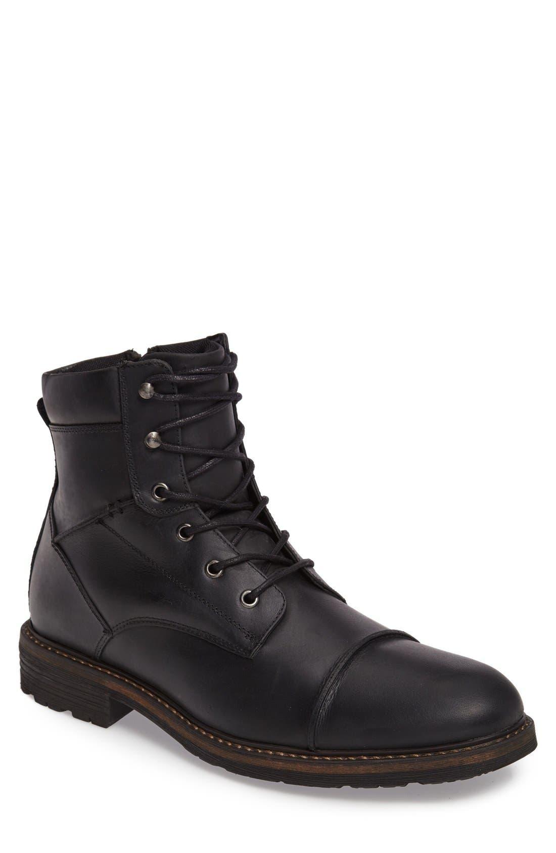 The Rail Derek Cap Toe Boot (Men) | Nordstrom