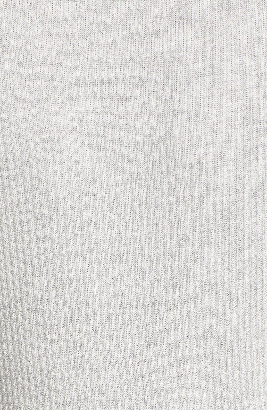 Alternate Image 5  - Everly Rib Knit Wrap Dress