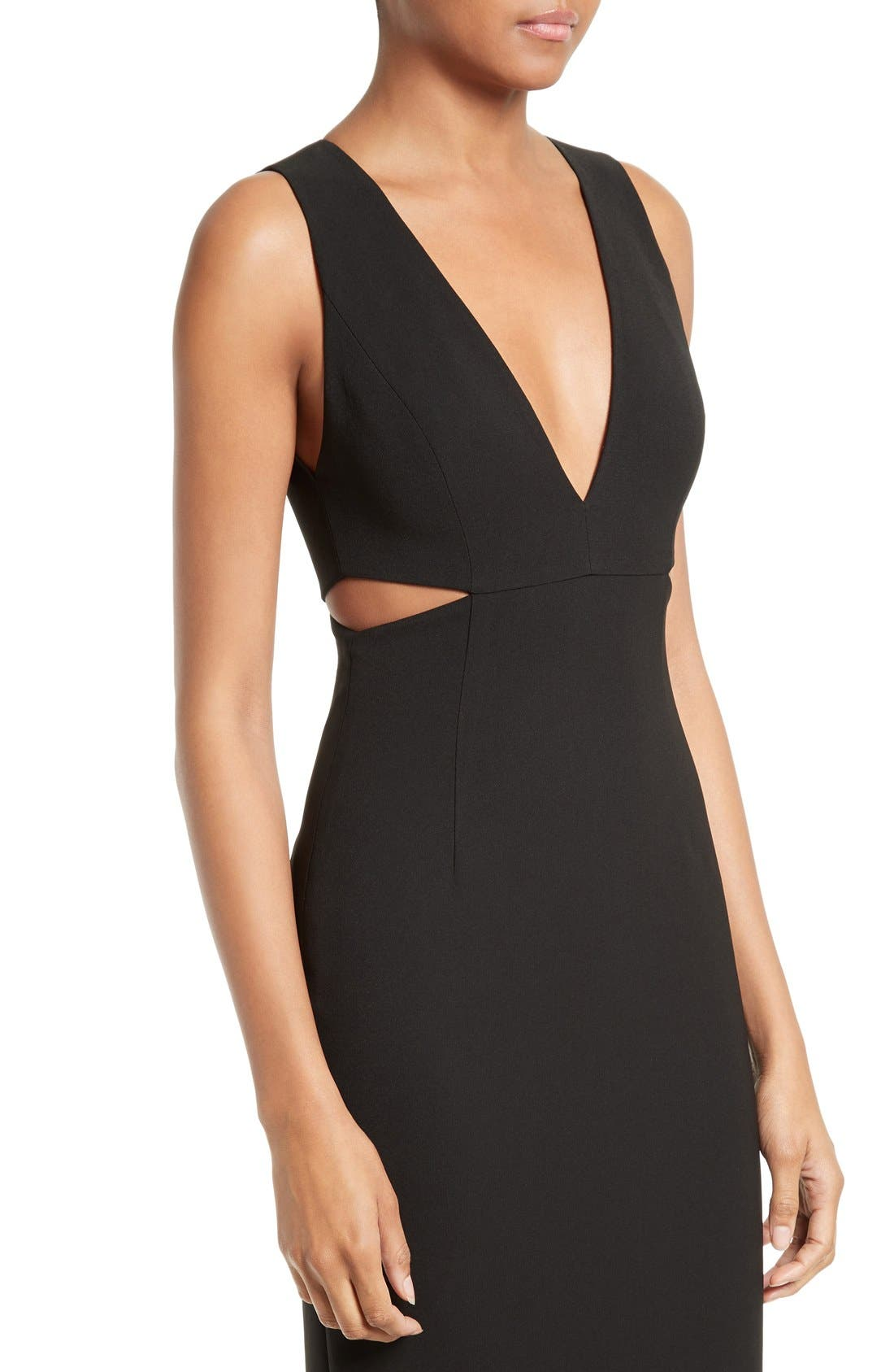 Alternate Image 4  - Alice + Olivia Riki Cutout Sheath Dress