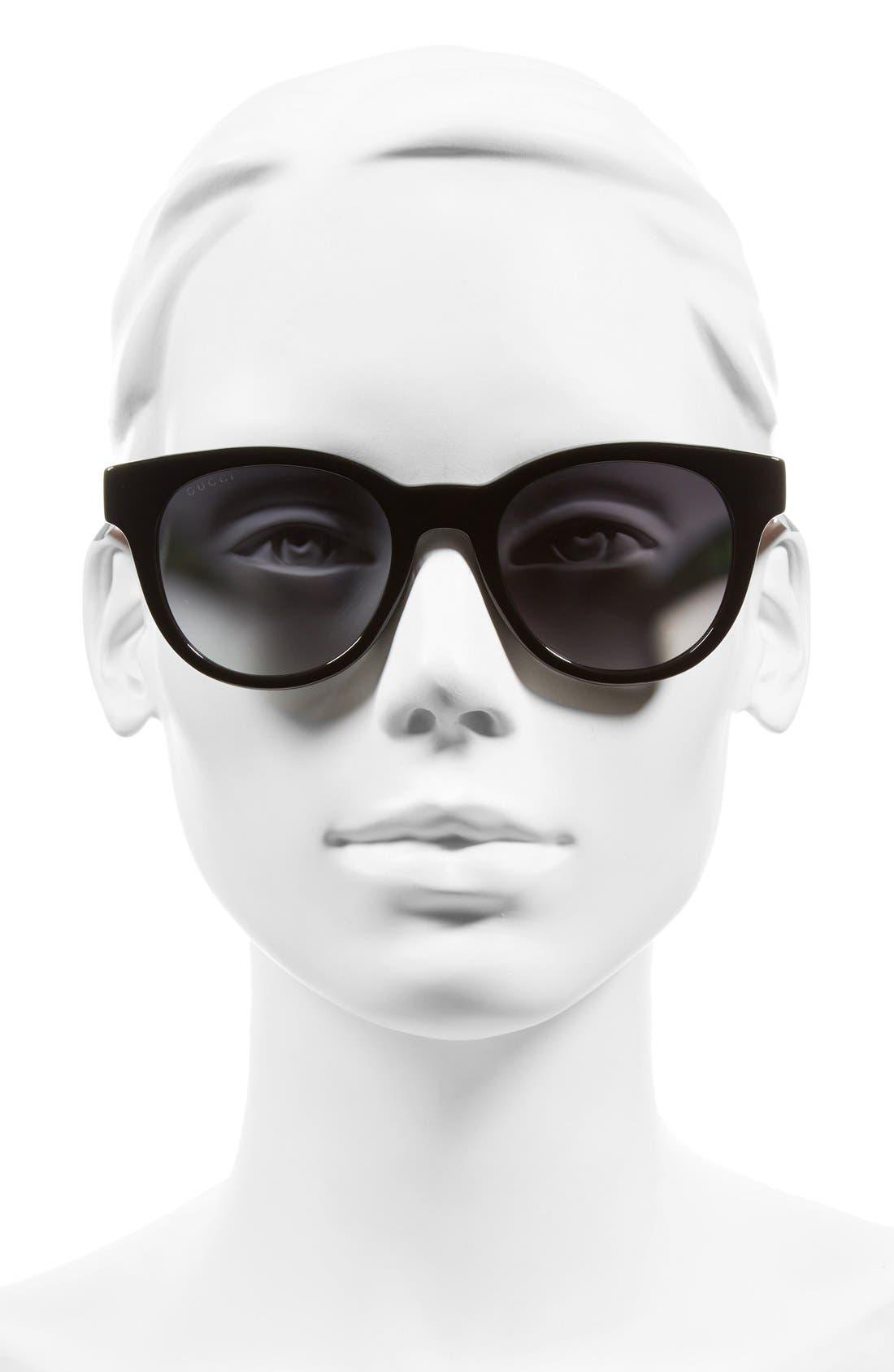 Alternate Image 2  - Gucci Colorblock Sunglasses