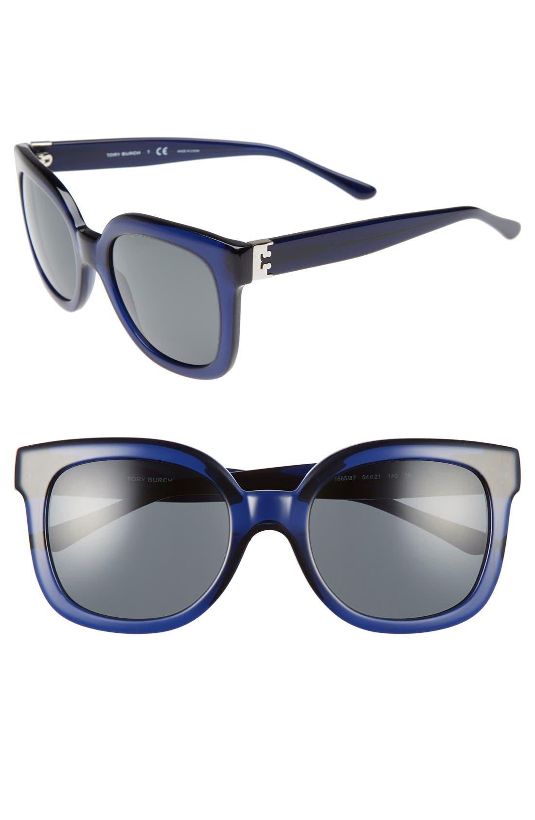 Alternate Image 1 Selected - Tory Burch 54mm Cat Eye Sunglasses